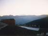 Výhled z apartmánu na Mt. Blanc