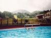 Bazén v jednom z hotelů